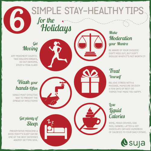 6 Simple Stay-Healthy Tips for the Holidays :: Suja Juice