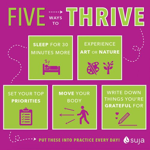 Five Ways to Thrive